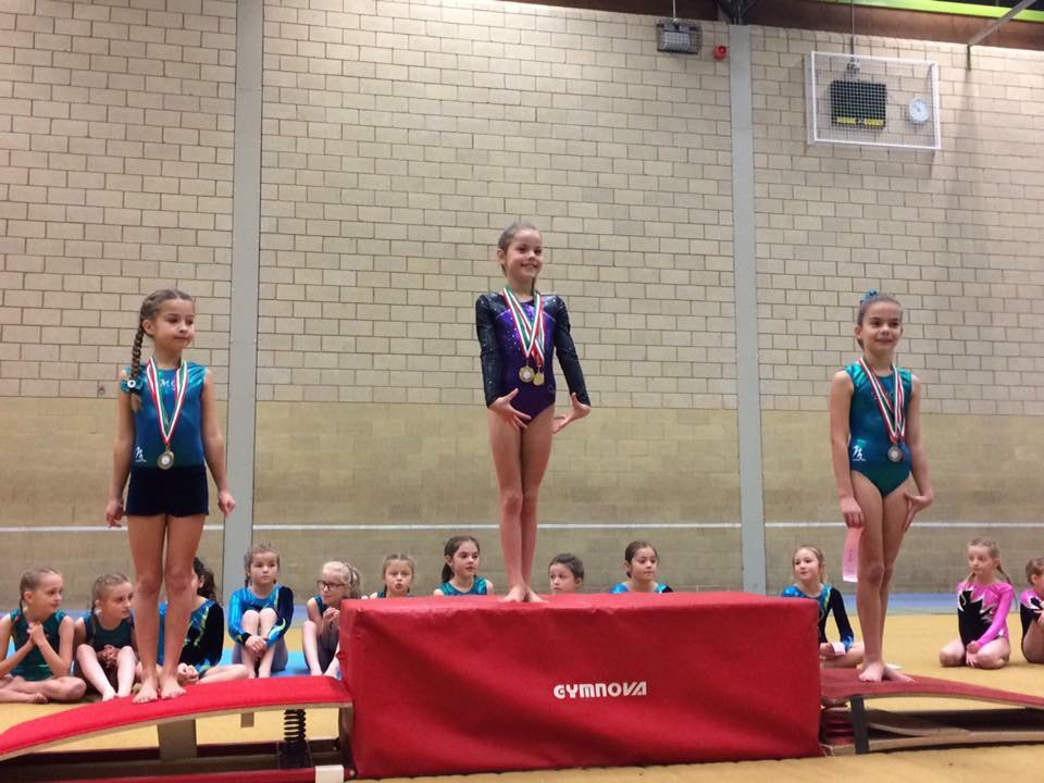 Grays Gymnastics Invitational Competition 04/12/16